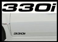 BMW 330i CAR BODY DECALS